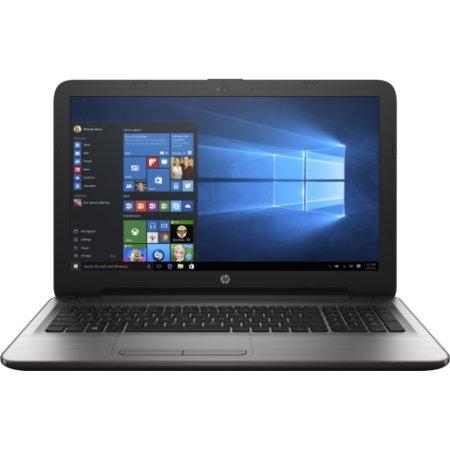 "HP15 15-ay500ur 15.6"", Intel Pentium, 1600МГц, 4Гб RAM, DVD-RW, 500Гб, Серебристый, Wi-Fi, Windows 10, Bluetooth"