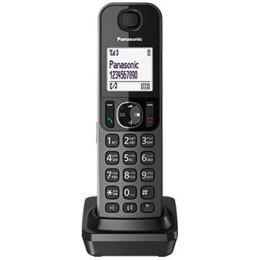 Трубка доп. Dect Panasonic KX-TGFA30RUM темно-серый для KX-TGFx