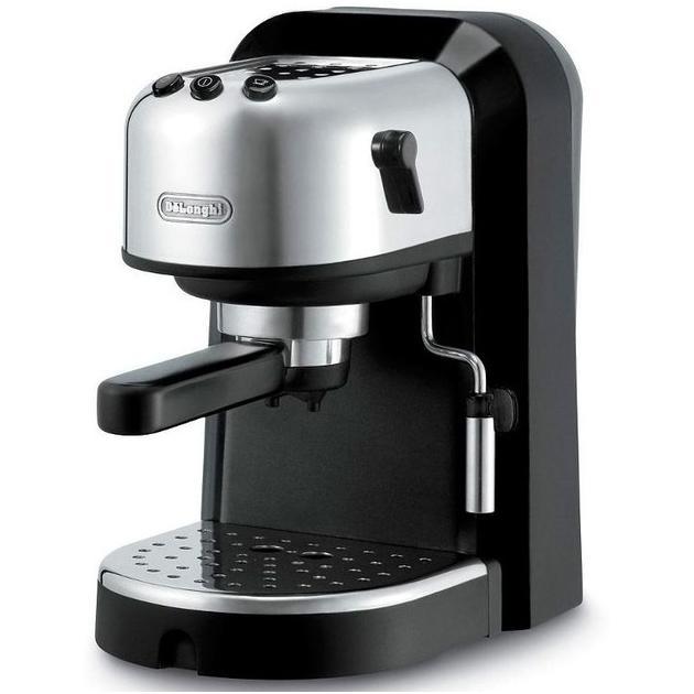 Delonghi EC 271 Черный, 1л, 1100ВтКофеварки и кофемашины<br>Тип эспрессо , Приготовление эспрессо полуавтоматическое , Капучинатор, Тип используемого кофе молотый , чалды , Фильтр постоянный , Пригот...<br>