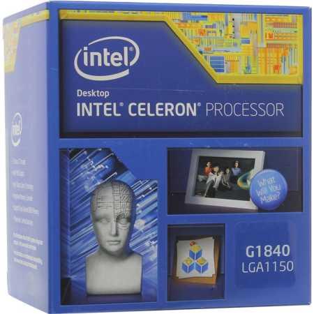 Intel Celeron G1840 2 ядра, 2800МГц, Box