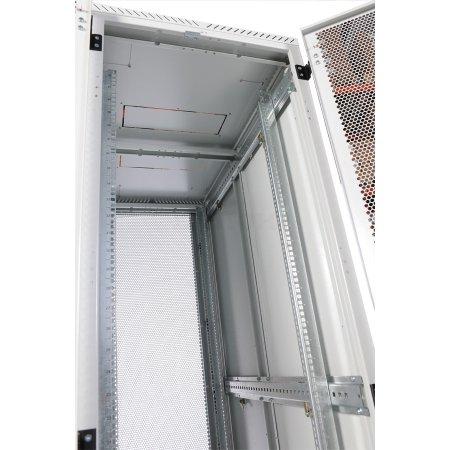 ЦМО Шкаф серверный напольный 42U (800x1000) дверь перфорированная 2 шт.
