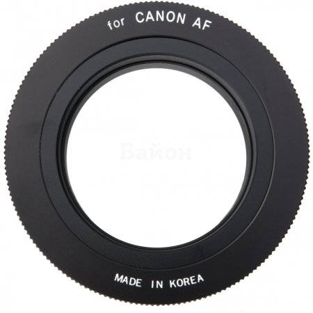 Samyang T-Mount Canon EF, T-mount, Стандартный