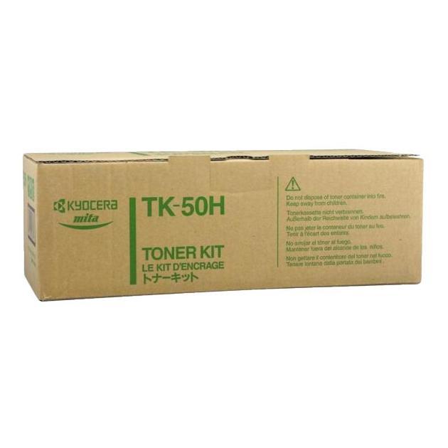 Kyocera-Mita TK-50H Черный, Тонер-картридж, Стандартная, нет