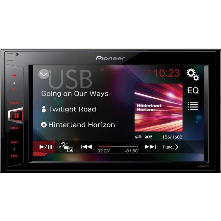 Купить Pioneer MVH-AV190 в интернет магазине бытовой техники и электроники