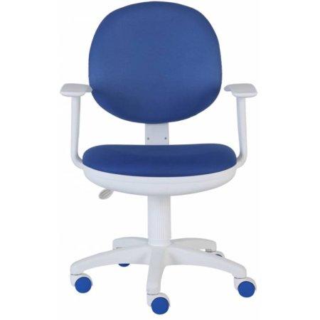 Кресло Бюрократ CH-W356AXSN/15-10 темно-синий 15-10 пластик белый