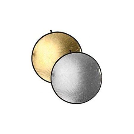 Отражатель круглый золотой-серебристый 56см CFR-22GS