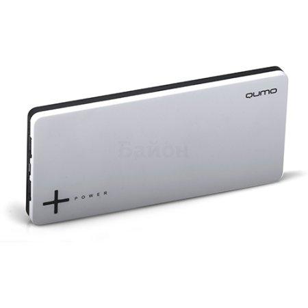 Qumo PowerAid Slim Twin Черный, 9000мАч Черный, 9000мАч