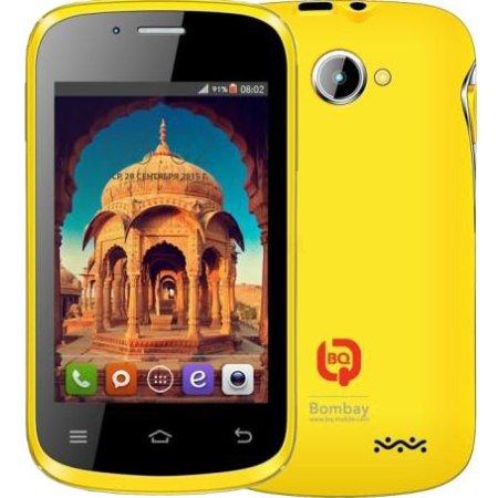 BQ 3503 Bombay Beige Gold 0.5Гб, Золотой, Dual SIM, 3G