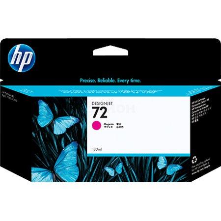 HP Inc. Cartridge HP 72 пурпурный 130 мл для для DJ T610/T770/T1100/T1120/ T1200