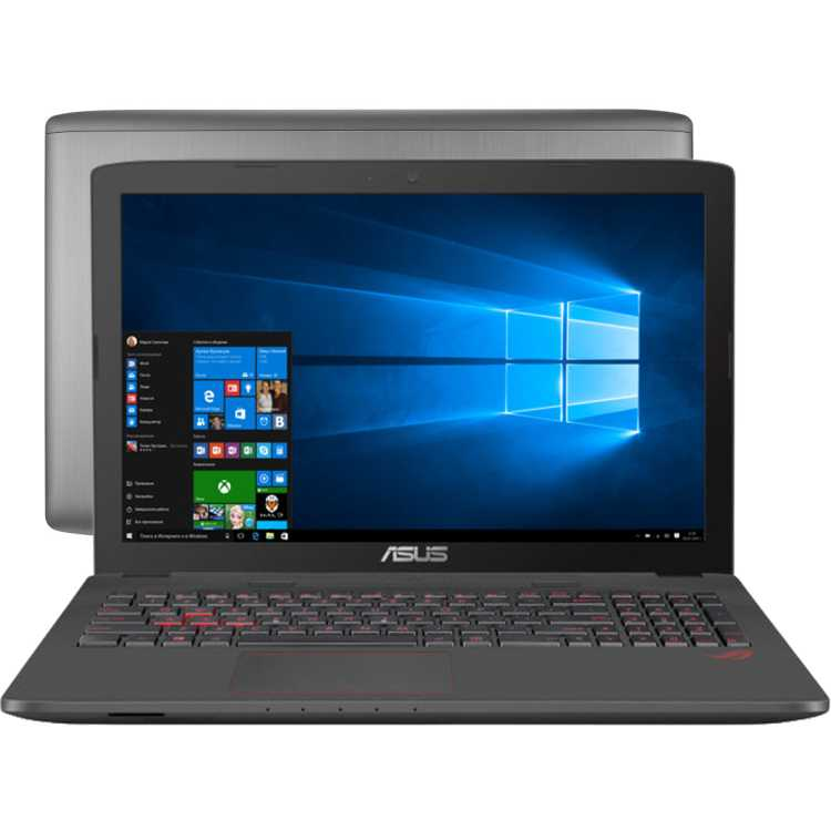 """Asus ROG GL752VW 17.3"""", Intel Core i7, 2600МГц, 8Гб RAM, 2000Гб, Windows 10 Домашняя"""