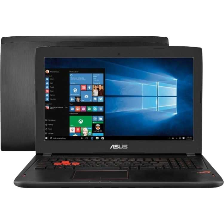 "Asus ROG GL502VT-FY010T 15.6"", Intel Core i7, 2600МГц, 8Гб RAM, 1128Гб, Windows 10"