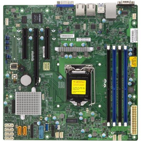 SuperMicro SYS-5019S-M uATX