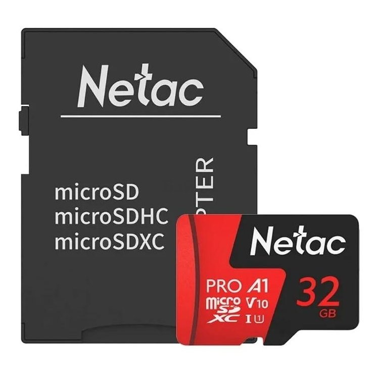 Netac MicroSDHC Memory Card P500 Extreme Pro 32GB
