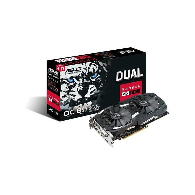 Asus AMD Radeon RX 580 Dual OC 8G