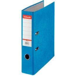 Папка-регистратор Esselte Rainbow 17925P A4 75мм картон синий