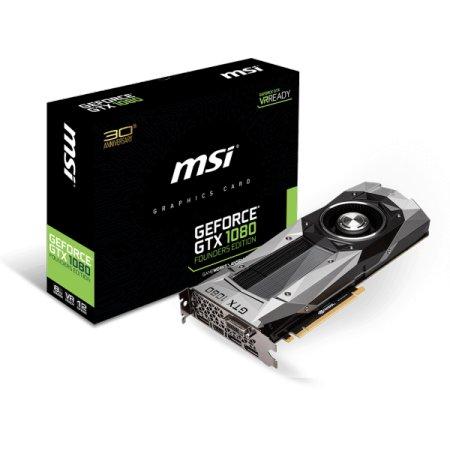 MSI GTX 1080 FOUNDERS EDITION 8192Мб, GDDR5