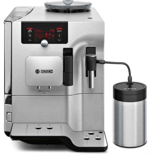 Bosch TES 80721 RW Серебристый, молотый, зерновой, 2.4л, 1600Вт