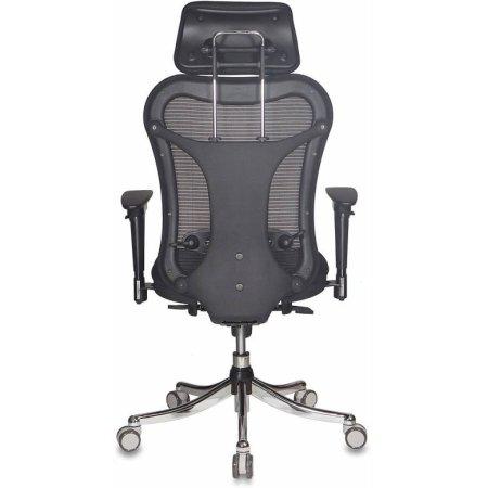 Кресло руководителя Бюрократ CH-999ASX спинка сетка черный сиденье черный TW-11 крестовина хром
