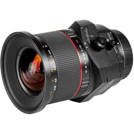 SAMYANG T-S 24mm f/3.5 AS ED UMC Canon EF Широкоугольный, Canon EF, Совместимость с полнокадровыми фотоаппаратами