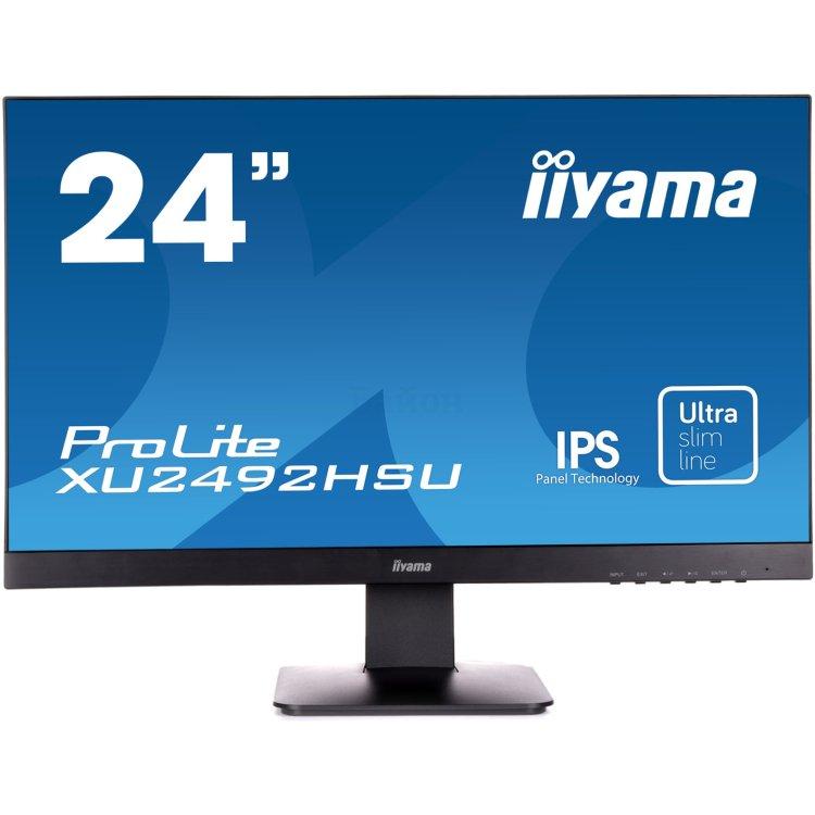 """Iiyama ProLite XU2492HSU-B1 1920х1080пикс., 23.8"""", Встроенные колонки, HDMI"""