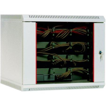 ЦМО Шкаф телекоммуникационный настенный 9U, 600x500мм, В=500мм, дверь стекло, [ ШРН-9.480 ]