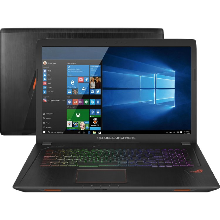 "Asus ROG GL553VE-FY054T 15.6"", Intel Core i7, 2800Мгц, 16Гб, 1Тб+256Гб, DVDrw, Bluetooth, WiFi, Windows 10"