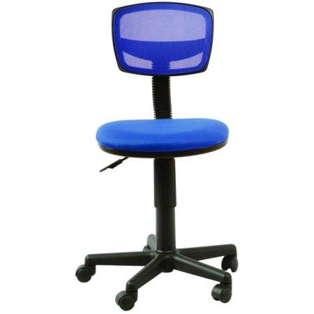 Кресло Бюрократ CH-299/BL/15-10 спинка сетка синий сиденье темно-синий 15-10