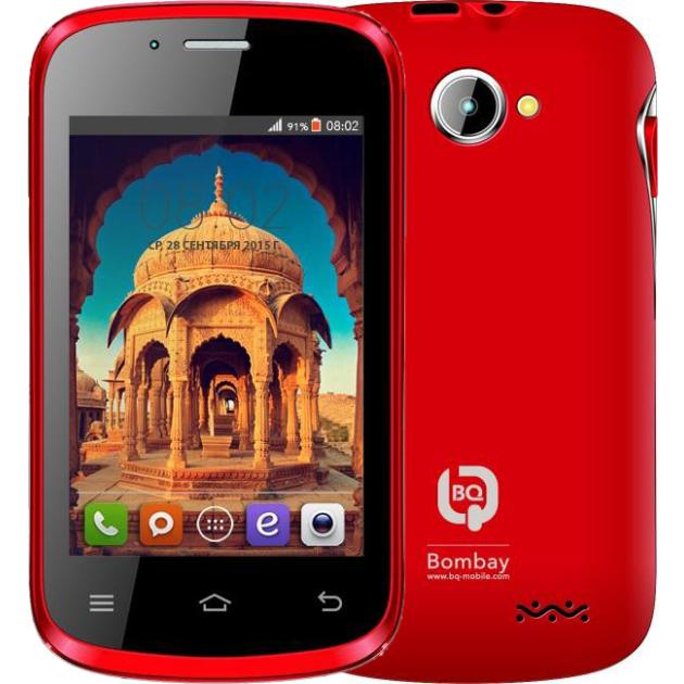 BQ BQS-3503 Bombay Красный
