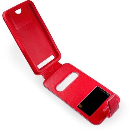 """Partner ЭКО.Flip-case 4.3""""-4.5"""" Красный"""