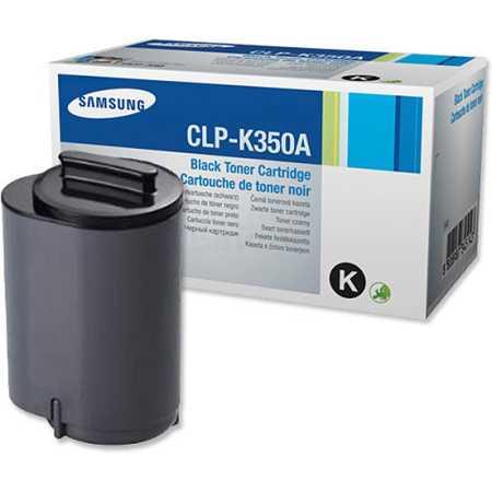Samsung CLP-K350A Картридж лазерный, Тонер-картридж, Черный, Стандартная, нет
