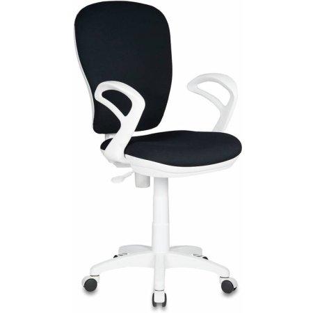 Кресло Бюрократ CH-W513/26-28 черный 26-28 пластик белый