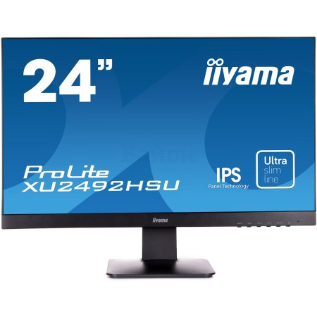 "Iiyama ProLite XU2492HSU-B1 23.8"", Черный, HDMI, Full HD"