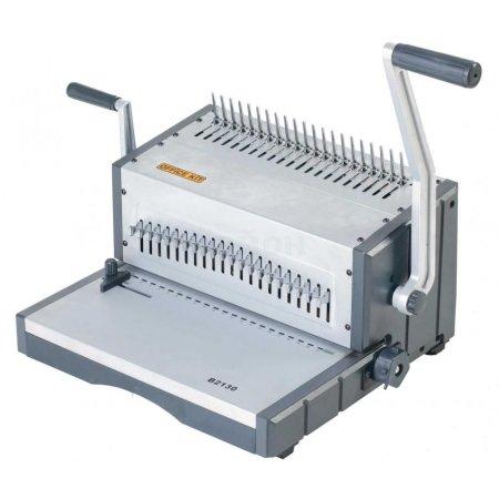 Office Kit B2130 Серый, Пластиковая зажимная пружина, Механическая, A4, A5