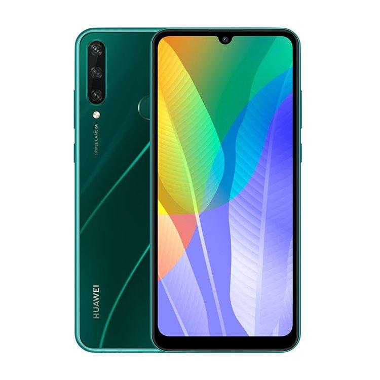 Huawei Y6P Midnight Emerald Green