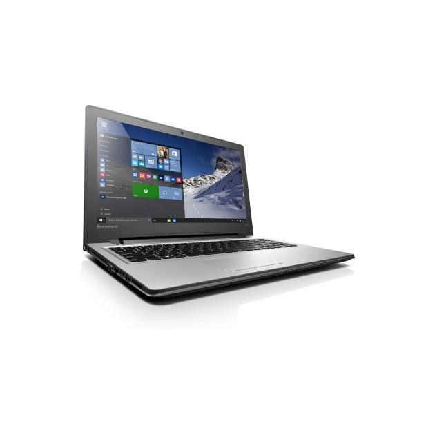 "Lenovo IdeaPad 300 15.6"", Intel Pentium, 1600МГц, 4Гб RAM, DVD-RW, 512Гб, Серебристый, Wi-Fi, Windows 10, Bluetooth"