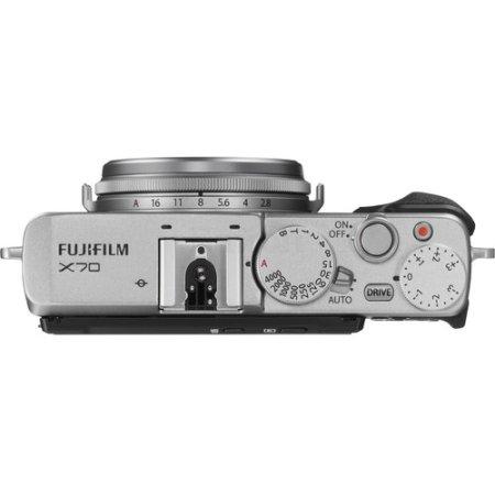 FujiFilm X70 Стальной, 16.3