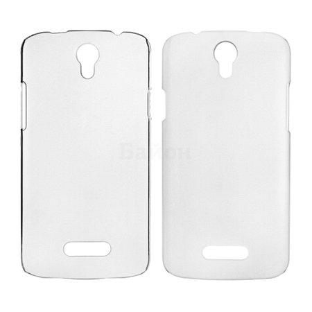 BQ Plastic case для BQS-5030 Fresh накладка, пластик, Прозрачный