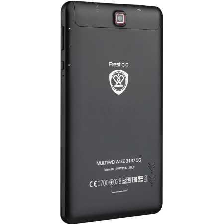 Prestigio MultiPad Wize 3137 Wi-Fi и 3G, Черный, Wi-Fi, 8Гб
