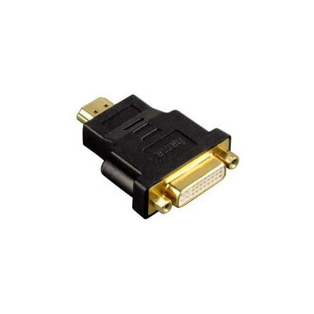 Адаптер Hama H-34036 HDMI (m) - DVI/D (f) позолоченные штекеры черный