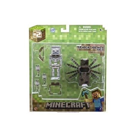 Minecraft.  3 Spider Jockey Pack
