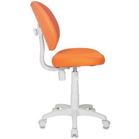 Кресло детское Бюрократ KD-W6/TW-96-1 оранжевый TW-96-1 пластик белый