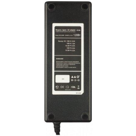 Блок питания Ippon E120 автоматический 120W 15V-19.5V 10-connectors от бытовой электросети LED индикатор