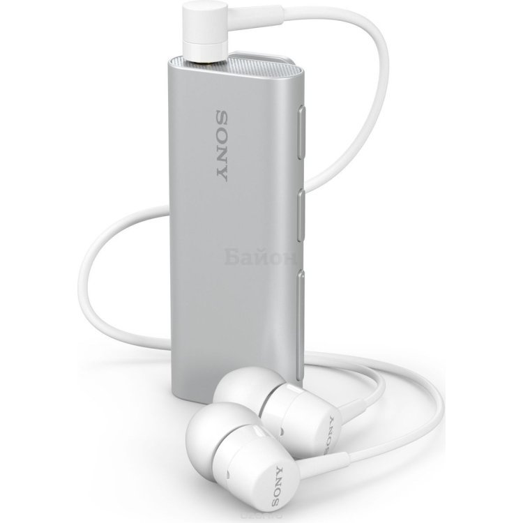 Bluetooth-гарнитура Sony SBH56 Серебристый