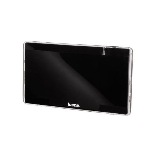 Антенна Hama H-44304 комнатная FLAT43 активная TV/FM/DVB-T 43 дБ 30 - 950 МГц черный