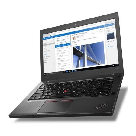 "Lenovo ThinkPad T460p 20FW004WRT 14"", Intel Core i5, 2300МГц, 8Гб RAM, DVD нет, 256Гб, Windows 10 Pro, Черный, Wi-Fi, Bluetooth"