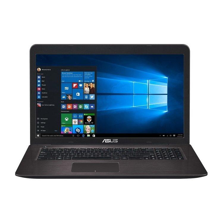 """Asus X756UQ-TY232T 17.3"""", Intel Core i5, 2300МГц, 4Гб RAM, 1000Гб, Windows 10"""
