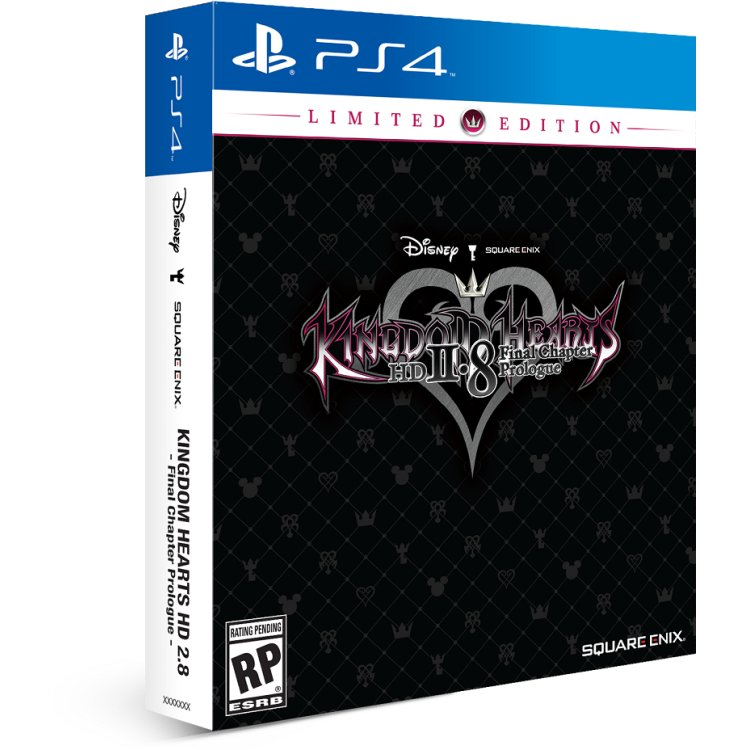 Kingdom Hearts HD 2.8: Final Chapter Prologue. Limited Edition
