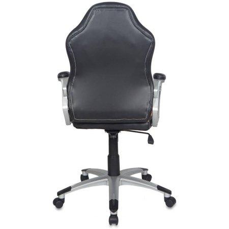 Кресло руководителя Бюрократ CH-825S/Black+Bg вставки бежевый сиденье черный искусственная кожа пластик серебро
