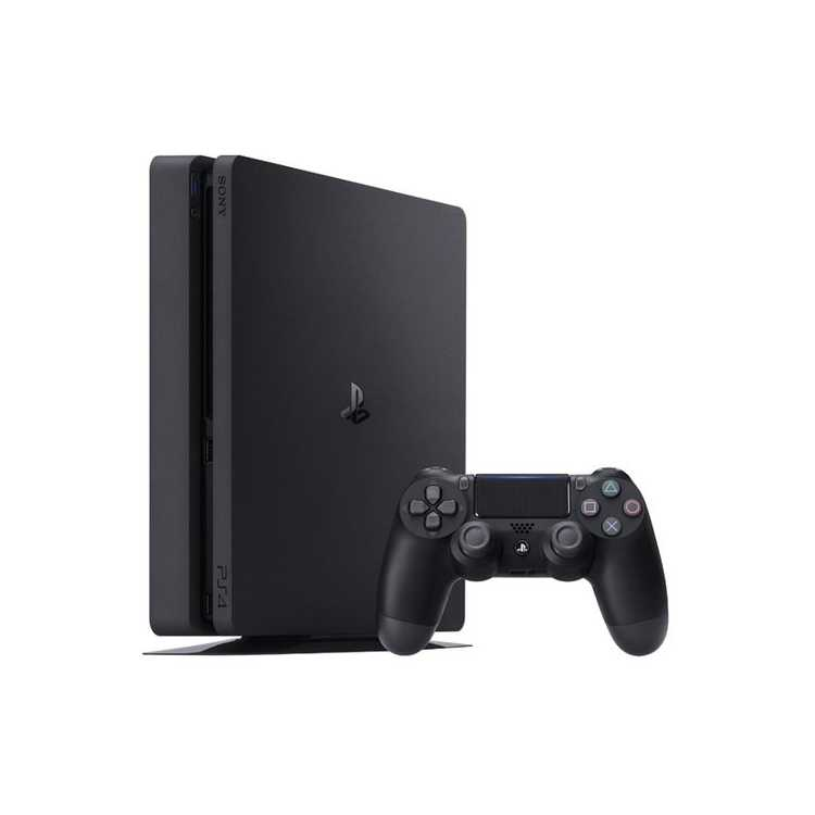 Sony PlayStation 4 Slim Черный