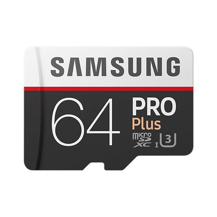 Купить Samsung microSDXC PRO Plus 95MB/s + SD adapter в интернет магазине бытовой техники и электроники